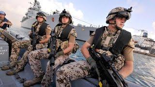 650 جنديا ألمانيا لمنع داعش من تهريب السلاح بالبحر المتوسط