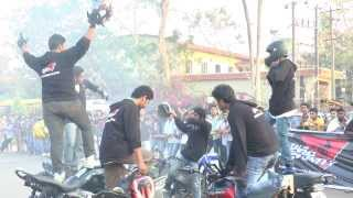 Stunt Show at St.Aloysius College by Team Zero Gravity (Full HD)