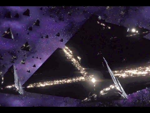 Destiny 2 After Credits Scene  Pyramid Ships
