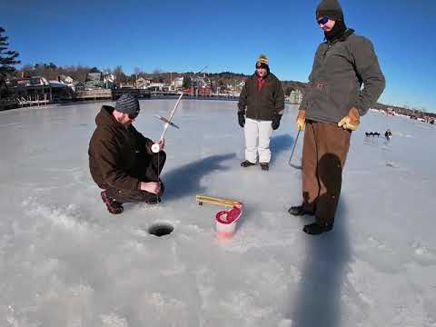 MEREDITH ROTARY ICE FISHING DERBY