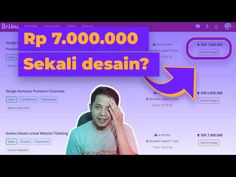 6 Tempat Untuk Menghasilkan Uang Dari Desain Grafis Di Indonesia