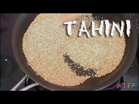 What is and how to make Tahini  YouTube