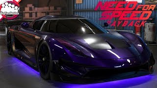 NEED FOR SPEED PAYBACK - Koenigsegg Regera - Racerbuild - NFS Payback Carbuild
