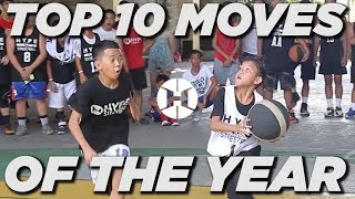 TOP 10 STREETBALL MOVES OF THE YEAR ! (PH)