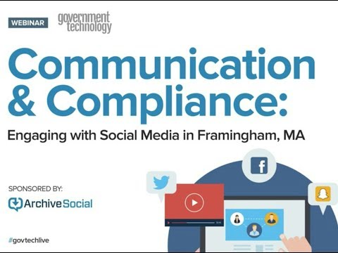 Communication & Compliance: Engaging with Social Media in Framingham, MA