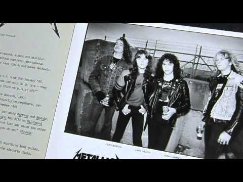 Metallica Promotional Press Kit 1984 (Elektra Records)