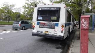 MTA Bus: 1999 OBI Orion V Q50 Limited Bus #6333 at Aldrich St-Baychester Ave