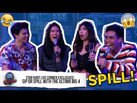 PBB Otso Big 4 naglaro ng Sip or Spill  Star Hunt  Corner Exclusive