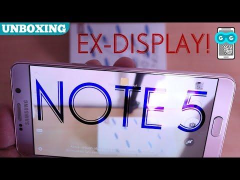 CUMA 4-jutaan! Unboxing Samsung Galaxy Note 5 Ex-Display, EMANG MASIH BAGUS?