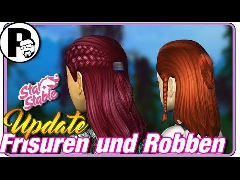 Starstable Online UPDATE I NEUE Frisuren und Eisberg-Robben ! #SSO