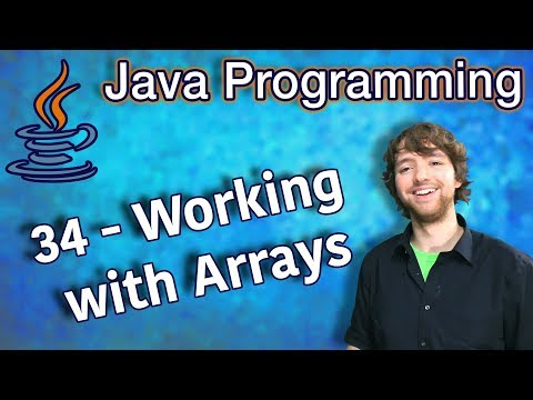 java-programming-tutorial-34---working-with-arrays