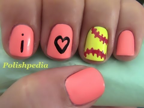 Softball Nails - Softball Nails - YouTube