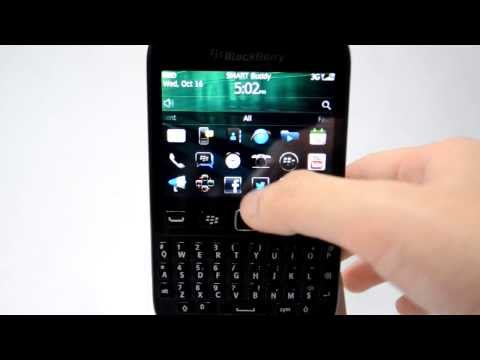 BlackBerry 9720: Turn off/on data roaming services