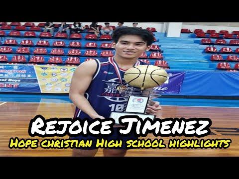 Rejoice Jimenez Hope Christian High School Highlights