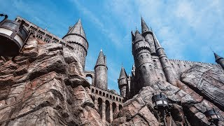 Замок Гарри Поттера, Трансформеры, Парк Юрского Периода - Куча аттракционов! (Часть 2)