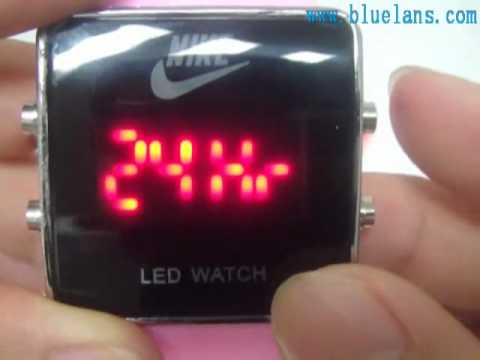 disponibilidad en el reino unido 86dbc 9b1bf Nike Digital Luxury Sport LED Watch Date Lady Men Watch