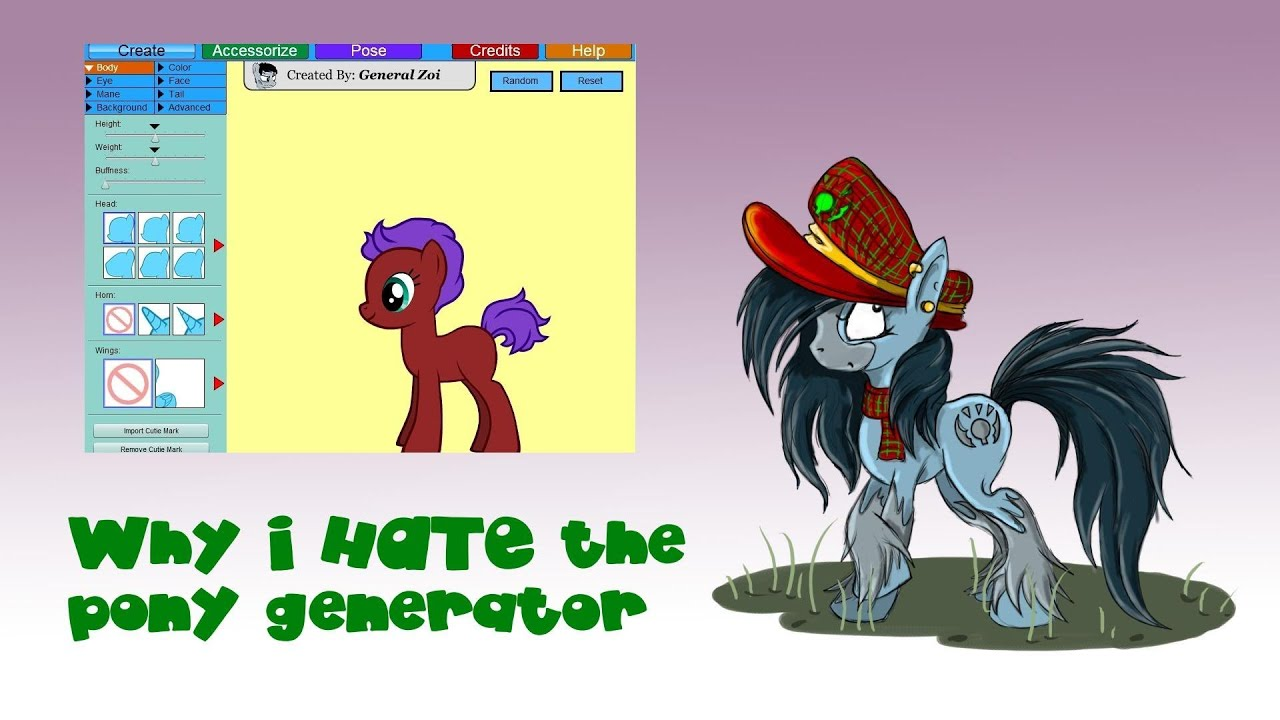 Why I hate the Pony Generator