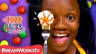 Last Minute Halloween Candy Hacks | FOOD HACKS FOR KIDS
