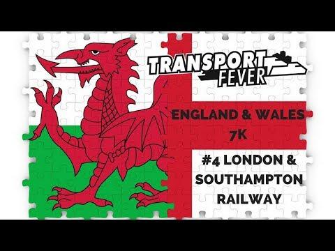 Transport Fever - England & Wales 7k - #4 London & Southampton Railway