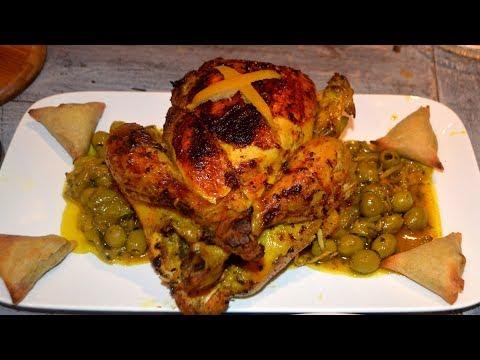 faire-un-poulet-m'hammer-et-ma3mmer-à-la-marocaine