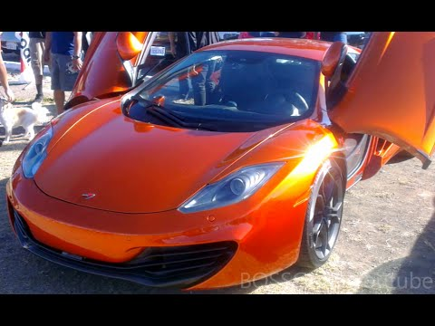 McLaren 12C in stunning Volcano Orange