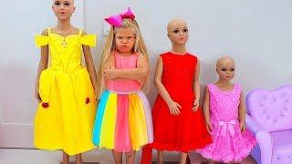 ديانا تخيط الفساتين الجميلة