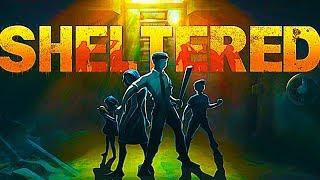 SHELTERED пиксельная игра на выживание ужасы новое мульт видео для детей апокалипсис