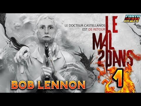 SEBASTIAN CASTELLANOS !!! -The Evil Within 2- Ep.1 avec Bob Lennon