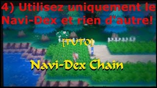 Pokemon Rubis Omega - [Tuto Navi-Dex] Comment chainer un shiny avec le Navi-Dex
