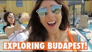 OUR FIRST TIME IN BUDAPEST!! | Amelia Liana Vlog
