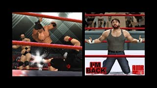 Seth Rollins VS Dolph Ziggler (DA Returns) PS2