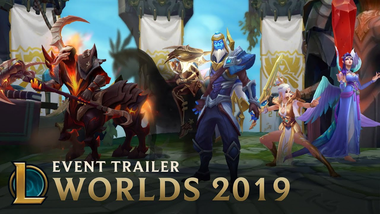 Worlds 2019: The Future is Ours | Event Trailer - League of Legends thumbnail