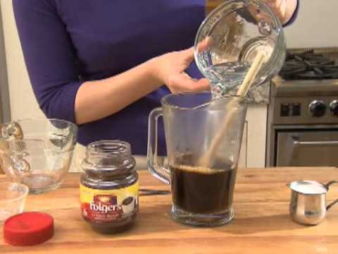 How To Make Instant Iced Coffee