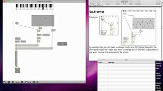 Max MSP Tutorial 06a3: Amplitude Modulation [2]