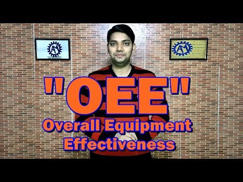 OVERALL EQUIPMNT EFECTIVENESS ! OEE !! ASK MECHNOLOGY !!!