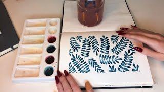 Painting ASMR 🌱🌙