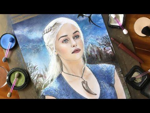 Drawing of Daenerys Targaryen (Game of Thrones)
