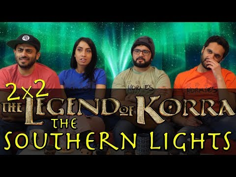 The Legend of Korra - 2x2 The Southern Lights - Group Reaction