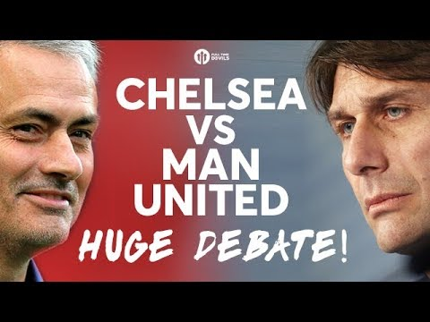 CHELSEA VS MANCHESTER UNITED! The HUGE Debate w/CFC FANTV & CHEEKY SPORT!