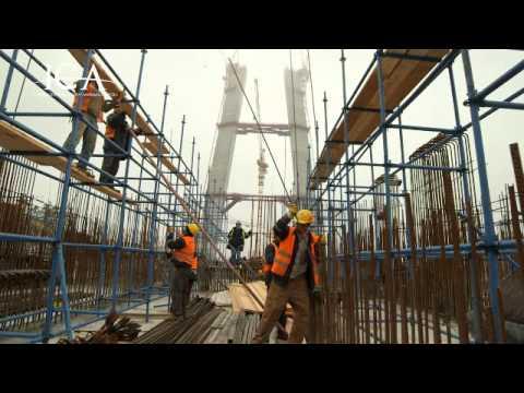 3. Köprü ve Kuzey Marmara Otoyolu Proje'sinden görüntüler