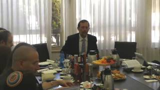Meeting with AIPAC Mission of Rabbis of all Denominations - 9.7.14