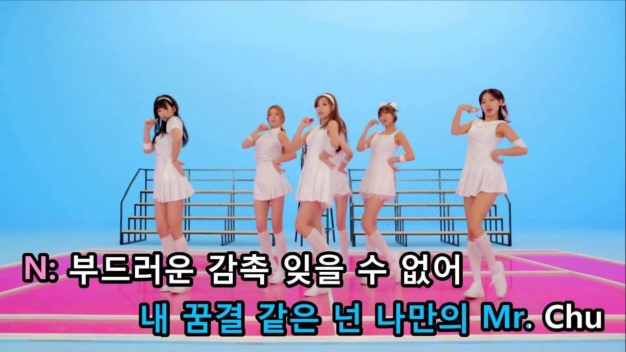 [KTV] Apink - Mr. Chu (On Stage Ver.)
