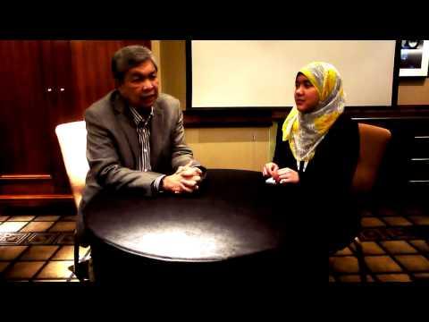 Interview Session with Dato' Seri Dr Zahid Hamidi
