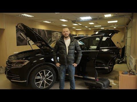 Автозвук в VW Touareg CR7 от Korkunoff!