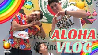 【vlog】初めてのハワイ!?皆んなでアロハ気分を味ってきた!!!