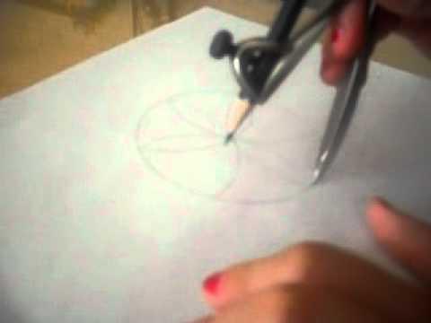 Hacer flores con una compas youtube - Como hacer figuras con chuches ...