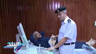 شاهد.. لحظة افتتاح مستشفى سجون جمصة أثناء زيارة «حقوق إنسان البرلمان»