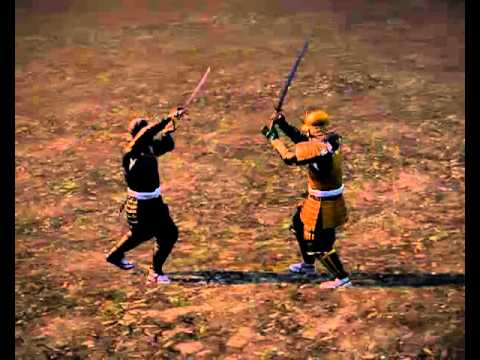 Shogun 2 Total War Deadliest Warrior Duels - Samurai Katana Sensei Ninja