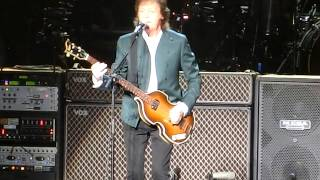 Paul McCartney「One After 909」 28th April 2015  Nippon Budokan ポール マッカートニー武道館ワンアフター909