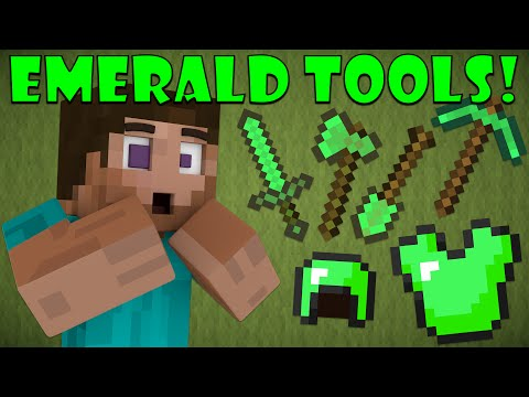Thumbnail: Why Emerald Tools Don't Exist - Minecraft